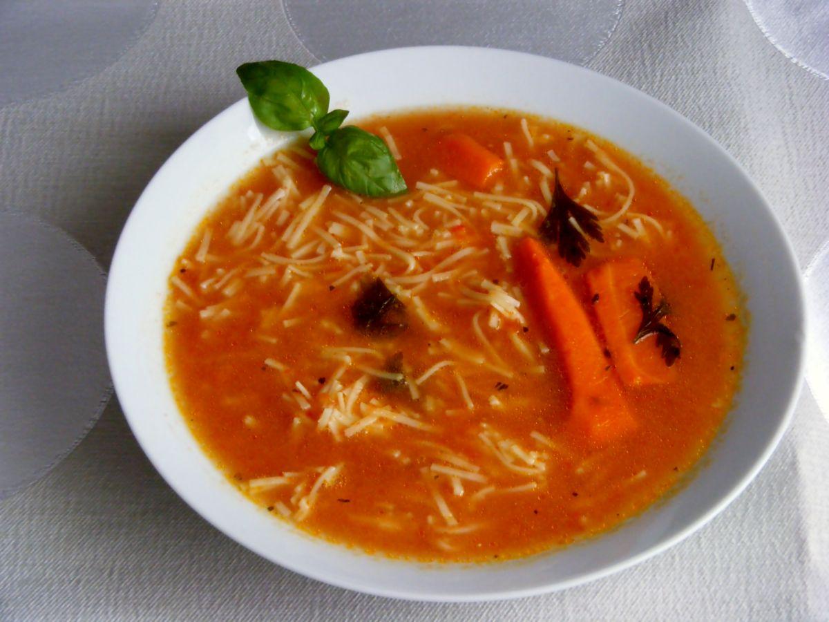 1001smakow Przepisy Kulinarne Polskie Zupy Zupa Pomidorowa