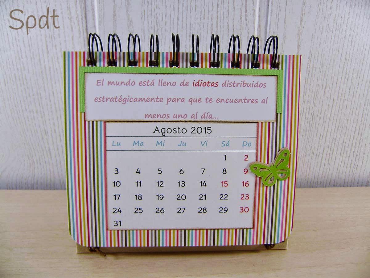 Calendario scrap