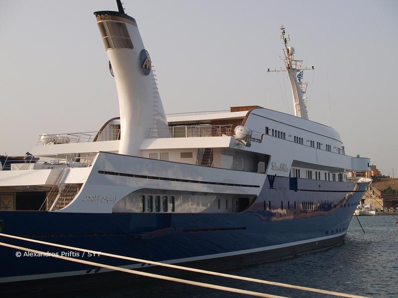 Megayacht ISSHAM AL BAHER