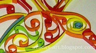 Quilling Bird 4   wesens-art.blogspot.com