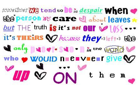 saddest love quotes. sad love quotes