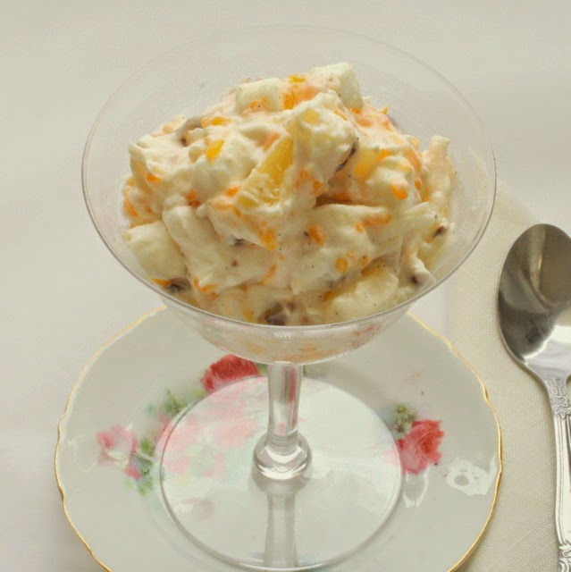 happy birthday mom: remembering you with your holiday ambrosia