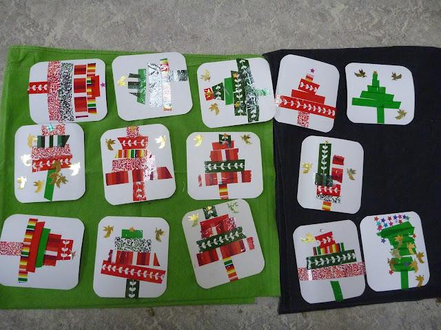 Basteln im Kindergarten Karten