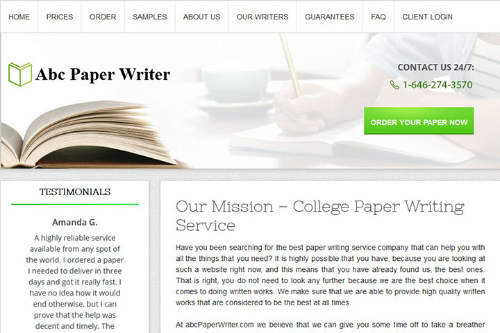 College paper for sale