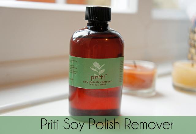 Yolanda G: Priti Soy Natural Nail Polish Remover Review and Ingredients