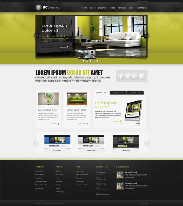 Web-Design-WordPress-Template