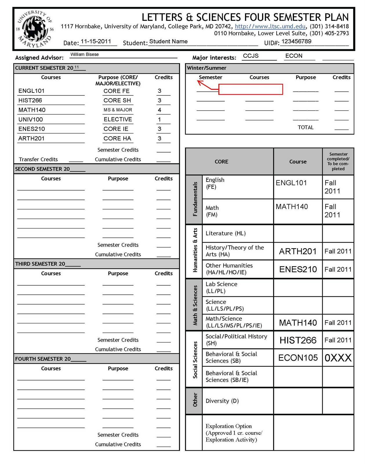 Semester plan template 28 images ltsc academic advising fall semester plan template by ltsc academic advising fall 2011 the four semester plan maxwellsz