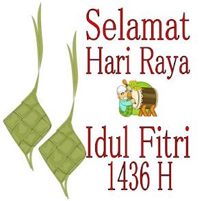 Kata Ucapan Selamat Lebaran Idul Fitri 1436 H