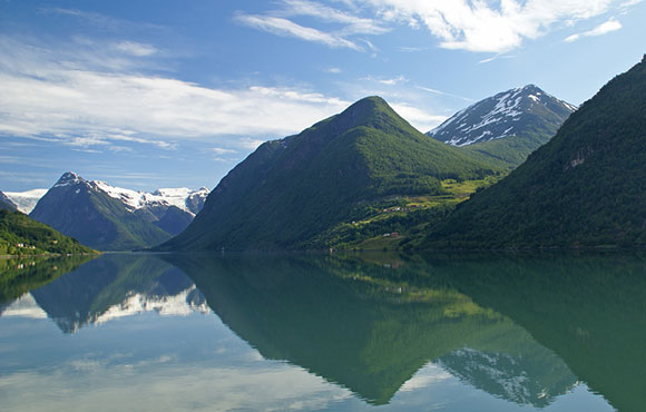 خلفية: Fjaerlandsfjord , خلفيات خياليه