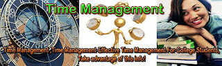 Time Management-Effective Time Management For College Students,Take advantage of this info!