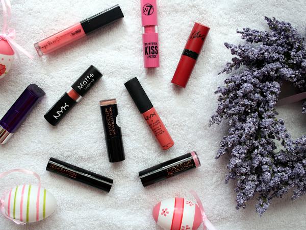 Drugstore Lipsticks For Spring ♡
