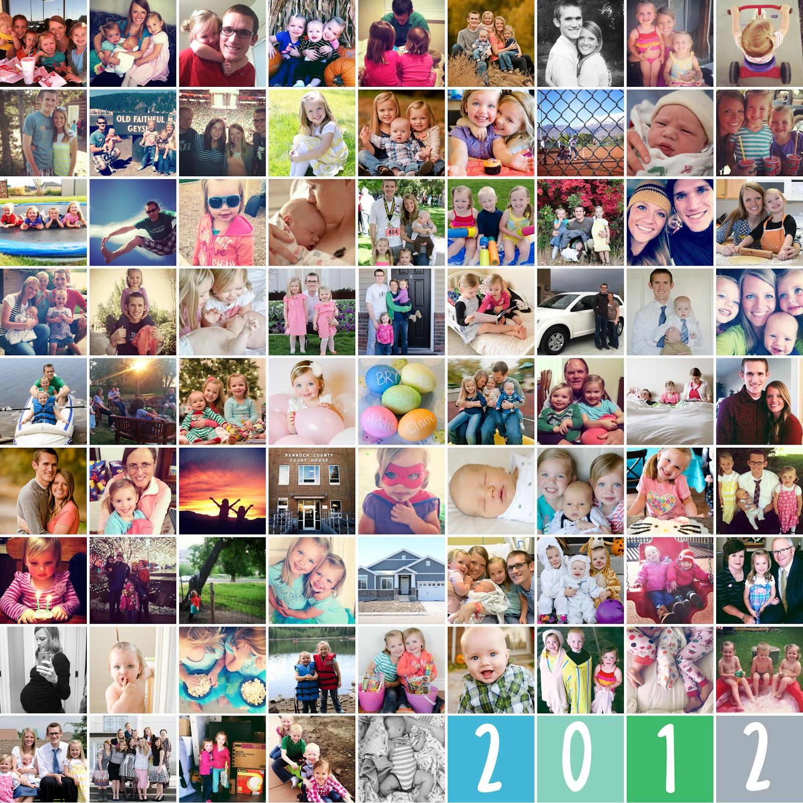 81 Picture Year End Collage Bits Of Everything
