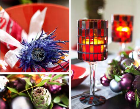 Chicdeco blog arreglos florales para navidadfloral - Arreglos para navidad ...