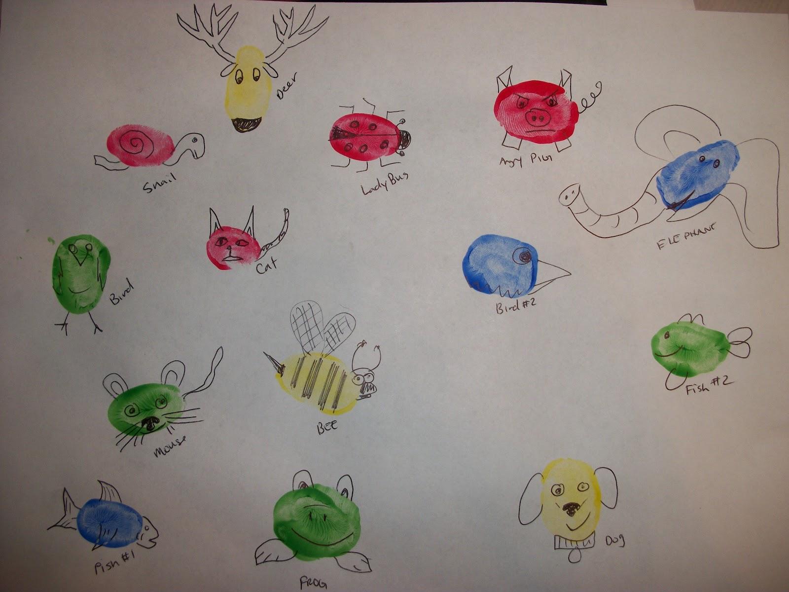 19 Fingerprint Creatures