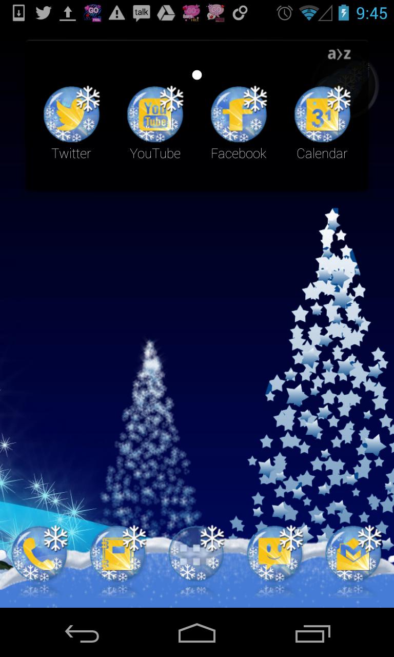 Google themes christmas - 1001 Hd Icons For Christmas Theme This Theme Will Work On Apex Adw Go Nova Next Holo Launchers Etc