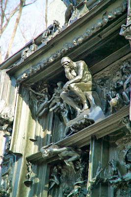 Escultura O Pensador