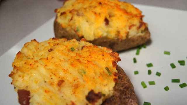 Twice baked potatoes by The Network Fork