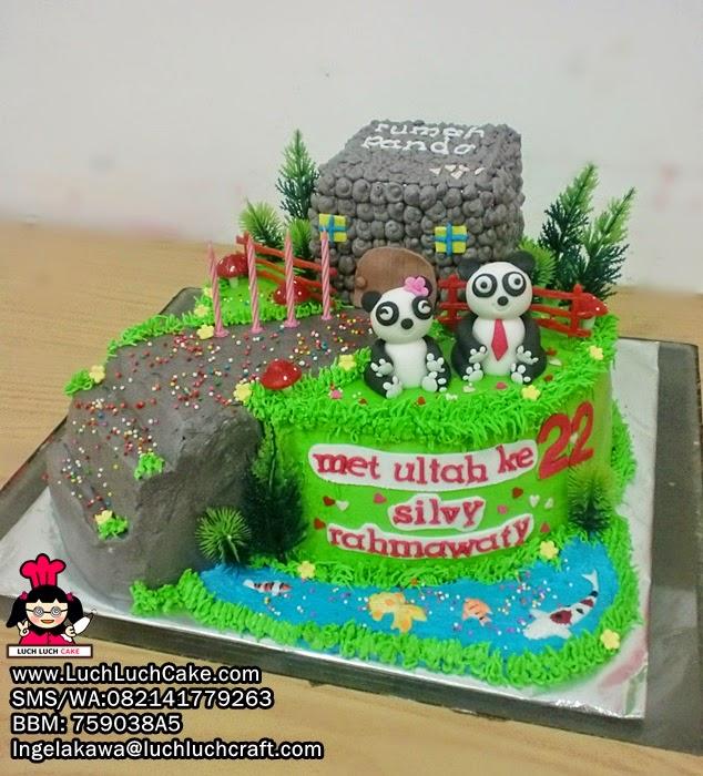 Kue Tart Panda Daerah Surabaya - Sidoarjo
