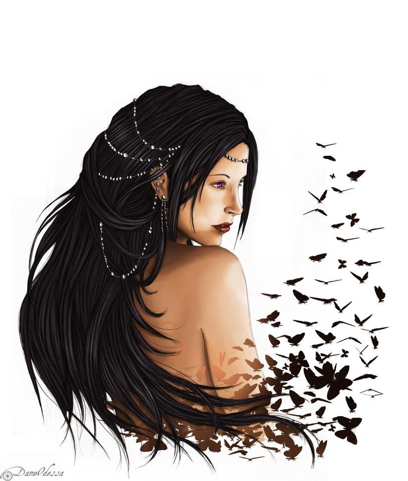 Lady Odessa Shadowclaw's art