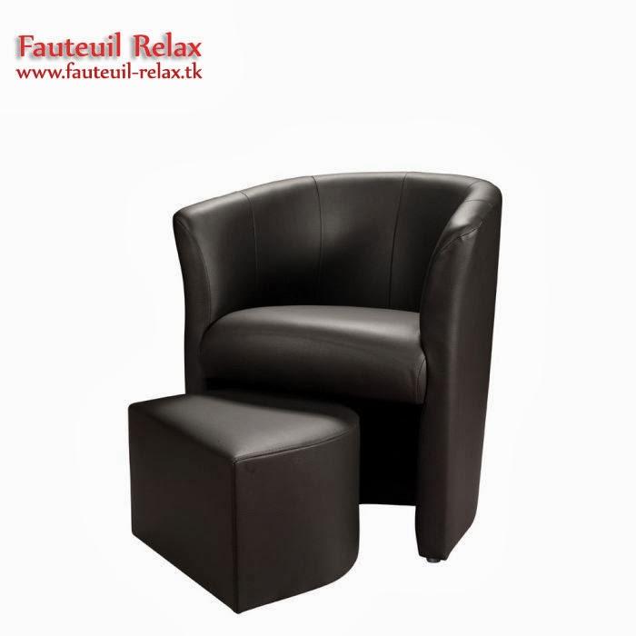 Fauteuil cabriolet baya avec pouf fauteuil relax - Fauteuil cabriolet pouf ...