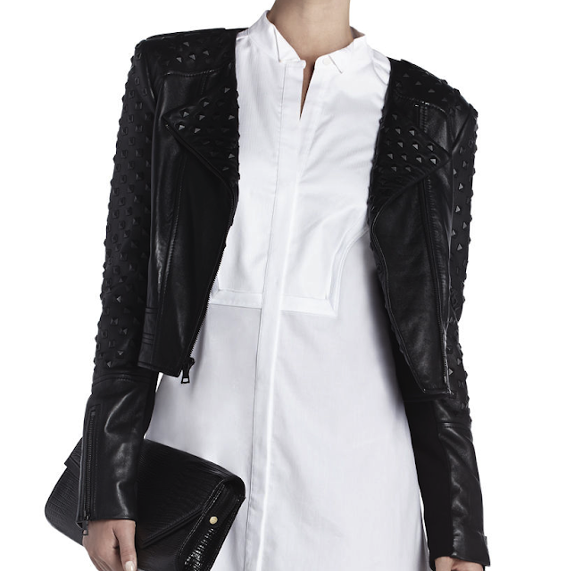 BCBG, novak, studded, stud, studs, leather, moto, jacket, Zara, biker, jacket, with, zips, zippers, zip, stud, studs, spike, spikes, leather, authentic, real, soft, black, affordable, beautiful, genuine, genuine leather, affordable leather jacket, jacket, coat, motor, cycle, moto, motorcycle, bad, ass, badass, stylish, fashion, accessory, accessories, chic, garment, basic, basics, piece, warm, functional, style, trend, trendy, classic, good, unparalleled, value, unbeatable, beat, price, bcbg, macys, bar, iii, 3, three, faux-leather, leather, pleather, vegan, studded, jacket, alternative, rock, stage, option, options, other, choice, choices, new, newer, different, unique,  affordable, value, edge, edgy, chic, luxury, luxurious, subtle, detail, details, detailing, impress, impressive, dirty, blonde, ambition, lauren, zelner, haute, couture, on, sale, rarely, discounted, discount, expensive, luxury, high, end, highend, trop, cher, chic