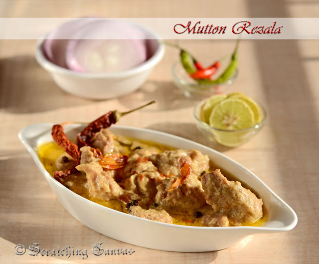 Bengali Mutton Rezala : bengali new year special