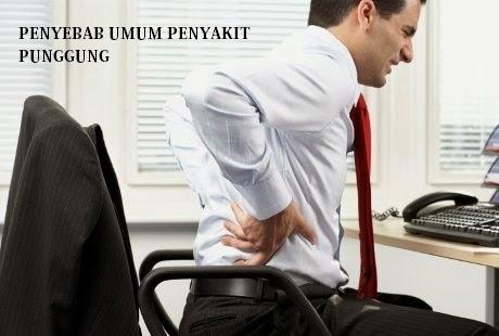 Penyebab Umum Sakit Punggung
