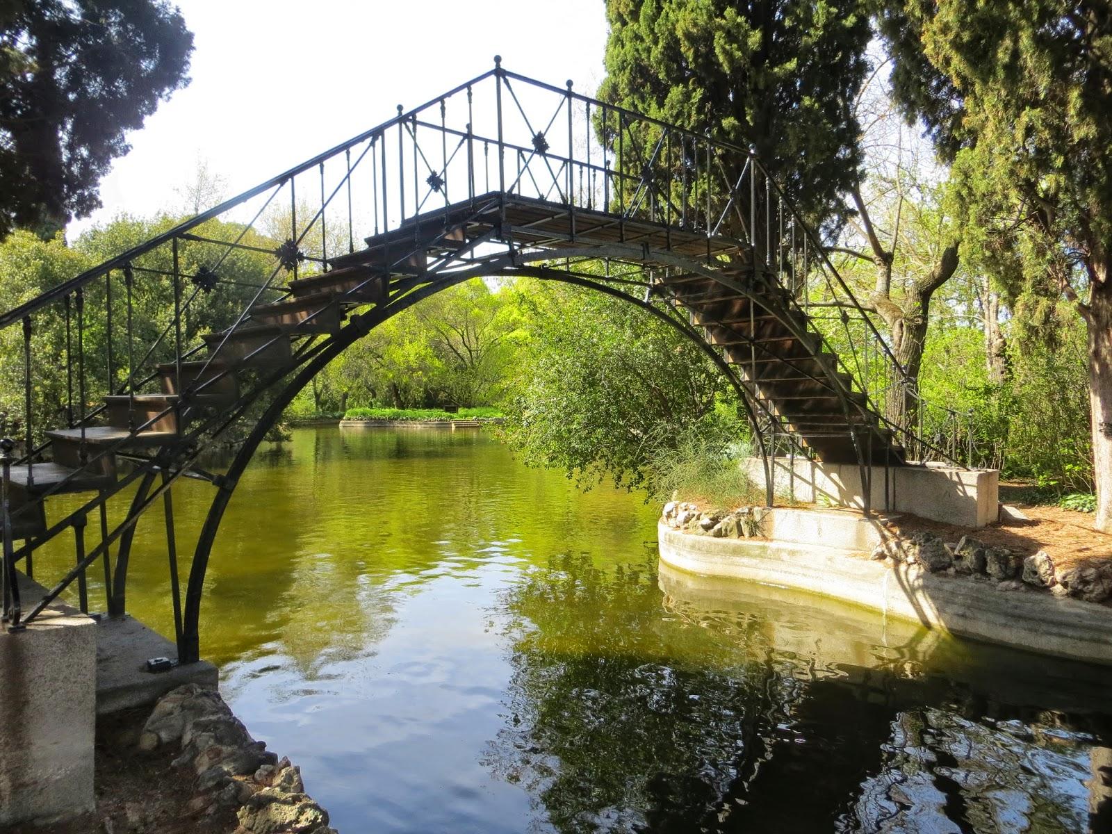 Disfrutando de Madrid El Parque de El Capricho
