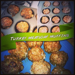 clean eating snack ideas, turkey meatloaf muffins