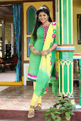Anjali latest photos in green churidar-thumbnail-7