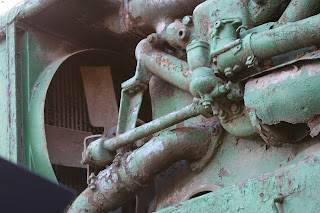 Фотография трактора ХТЗ 15/30 в г.Аксай Ростовская область с элементы шасси. Аксайская МТС
