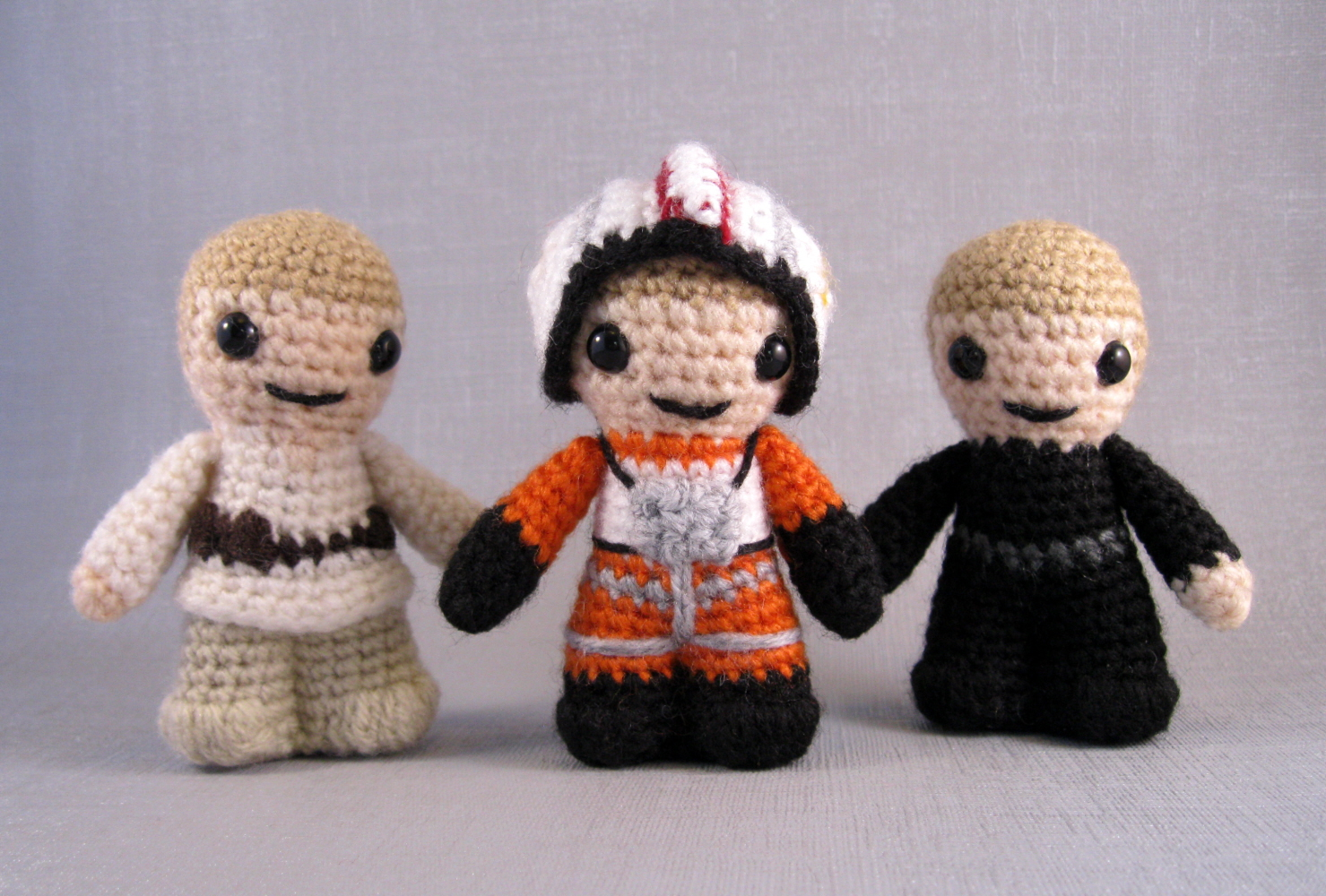 Amigurumi Star Wars Patterns : Lucyravenscar crochet creatures: luke skywalker times three