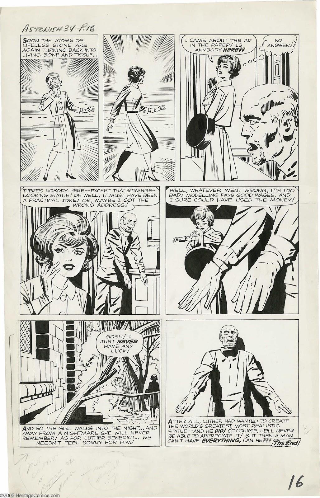 Pop Culture Safari!: Jack Kirby original art from Tales to