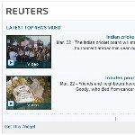 ロイターニュース(ビデオ)RSSブログパーツ
