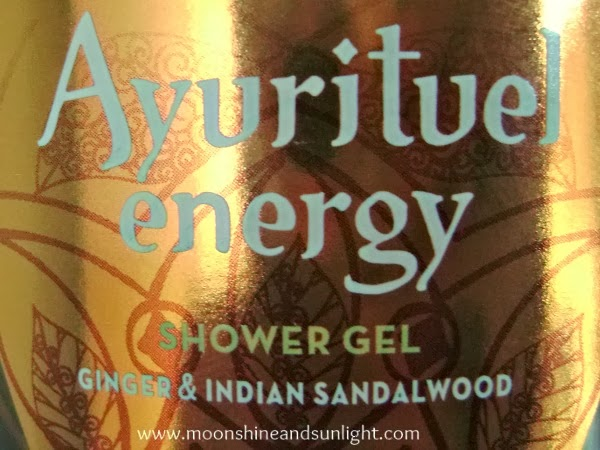 Palmolive Ayurituel energy shower gel review
