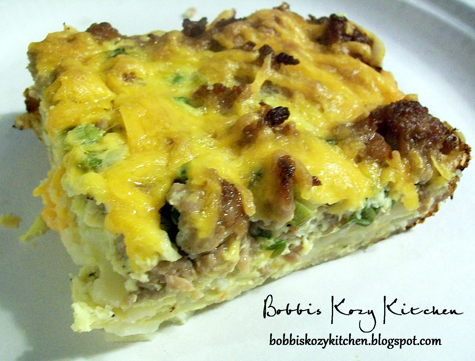 make ahead sausage breakfast casserole bobbi 39 s kozy kitchen