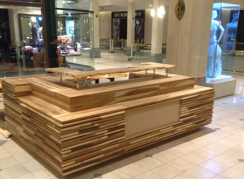 X Factor Property Showcase The Glow Of Natural Wood