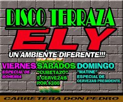 Disco Terraza Ely