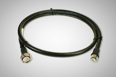 RFS 4.3-10 male - din ( 7/16 ) male connector jumper cable