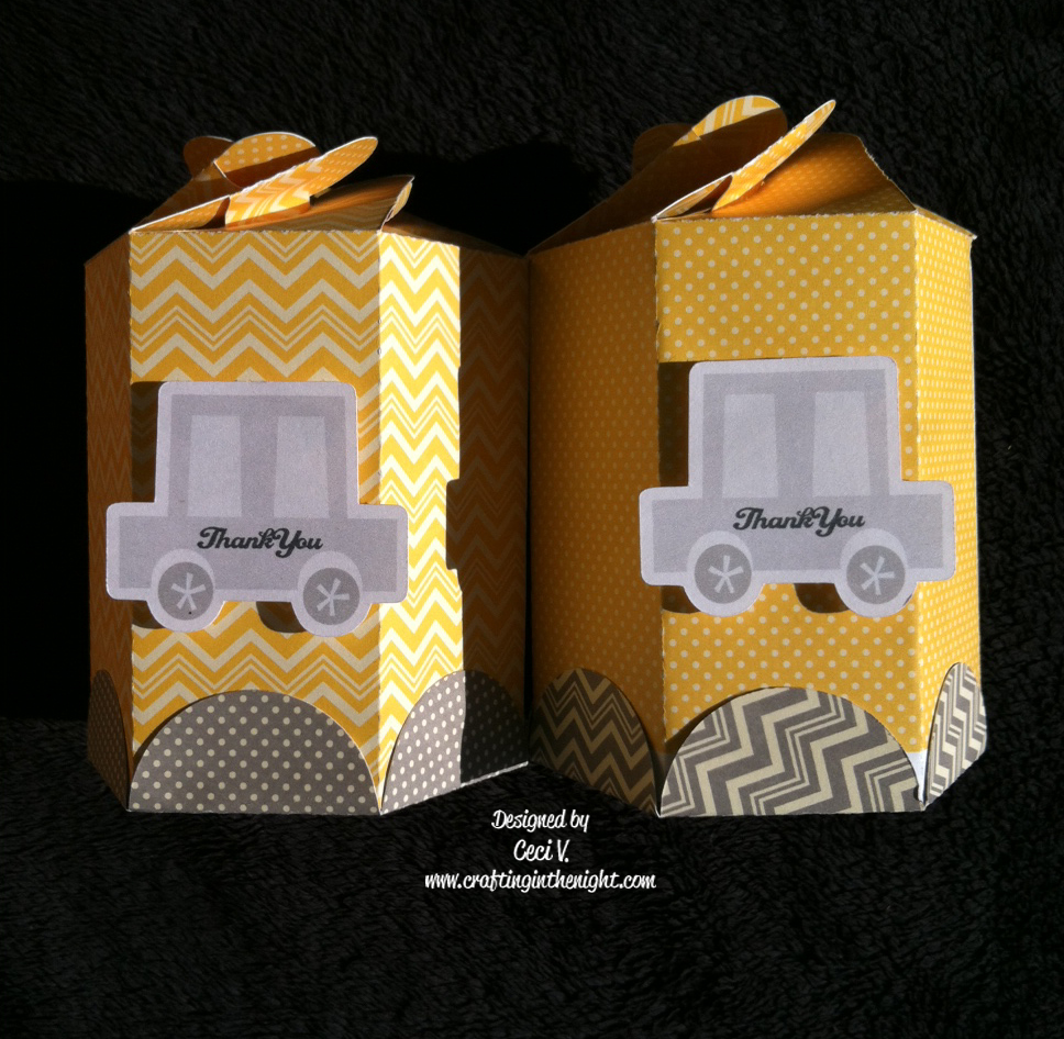 crafting in the night canister box baby shower preview
