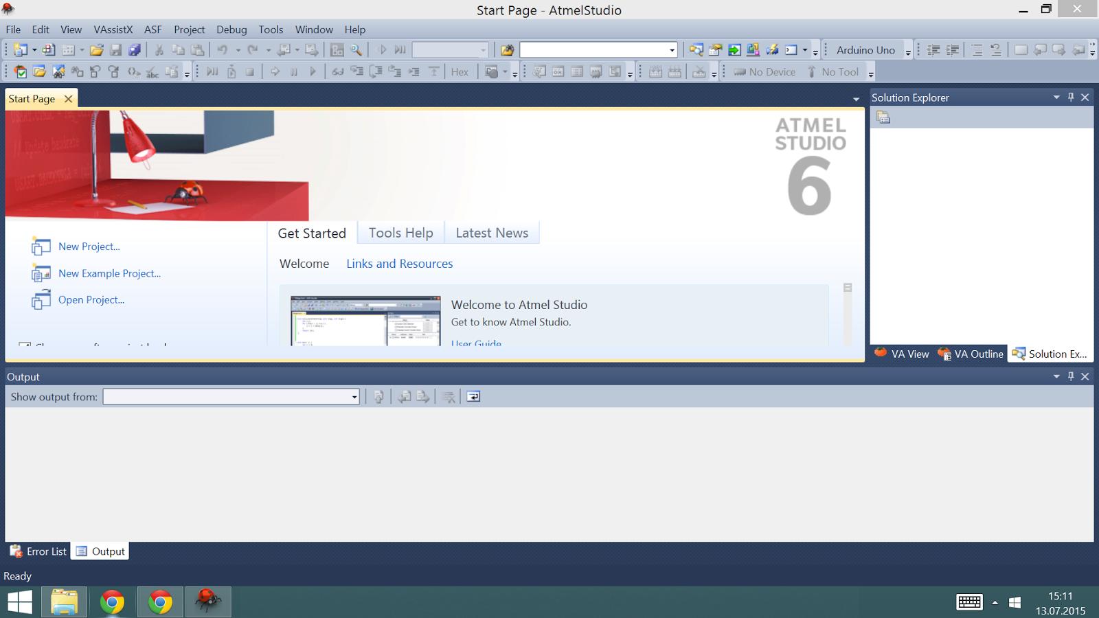 Arduino atmel studio download