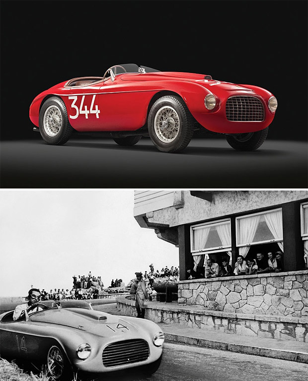 1949 Ferrari 166 MM Barchetta Up for auction , 1949 Ferrari 166 MM Barchetta is a very rare Vintage car.