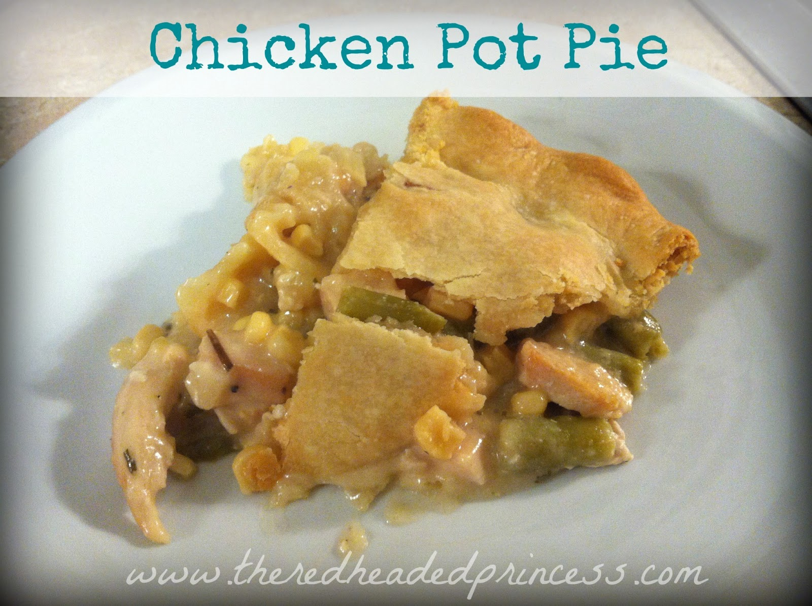 Ginger Mess: Homemade Chicken Pot Pie