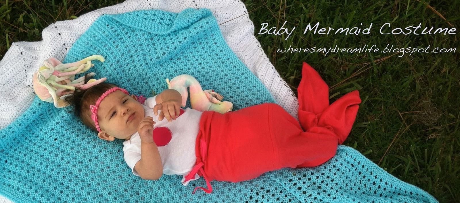 Where\'s My Dream Life?: Simple Baby Mermaid Costume