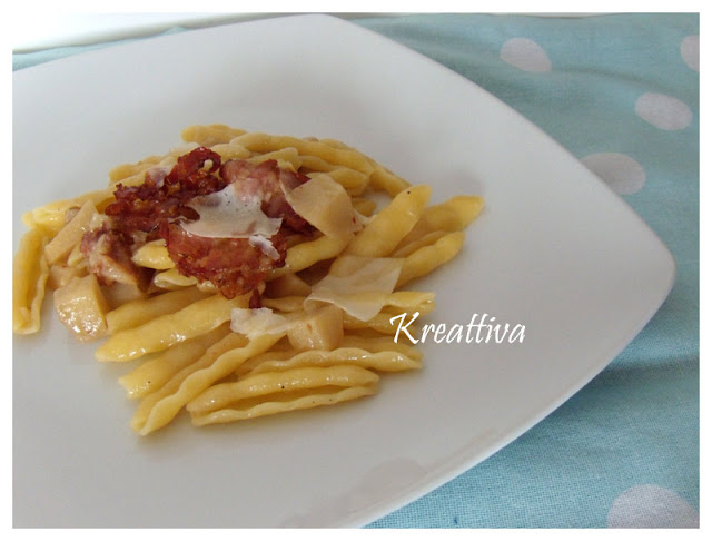 Cavatelli con topinambur