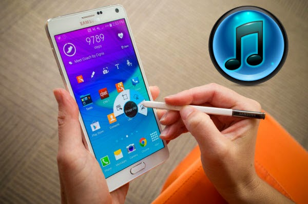 Enjoy iTunes Movie on Samsung Galaxy Note 4
