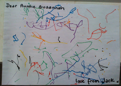picture by my 1 yr old nephew Jack, sent to me for my birthday. :)