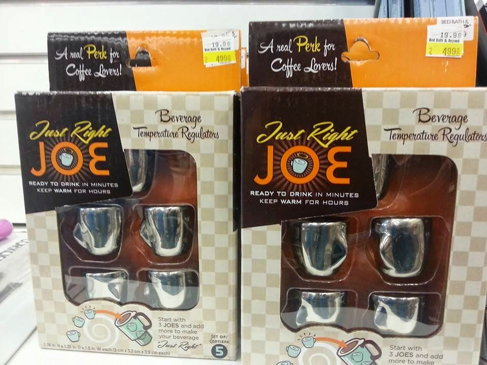 Amazing Just Right Joe Beverage Temperature Regulators on sale for down from These promise to keep hot drinks hot if they work