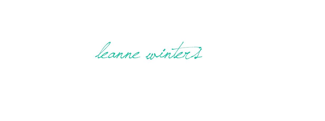 Leanne Winters Fashion Blog