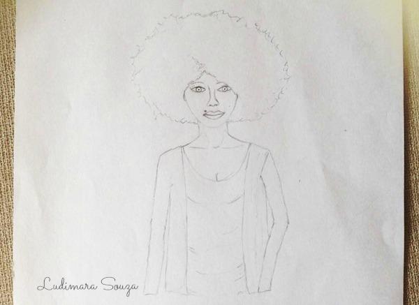 black power girl  crespa desenho